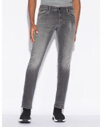 Armani Exchange - Skinny Five-pocket Jeans - Lyst