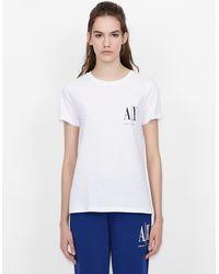 Armani Exchange - T-shirt Icon Period - Lyst