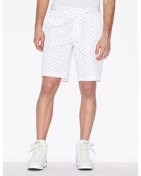 Armani Exchange Shorts - Weiß