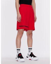 Armani Exchange Shorts - Rojo