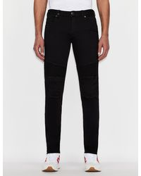 Armani Exchange J27 Skinny Jeans - Black