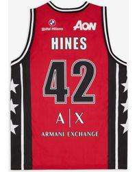 Armani Exchange Camiseta sin mangas - Rojo