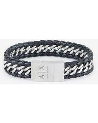 Armani Exchange Armband - Schwarz