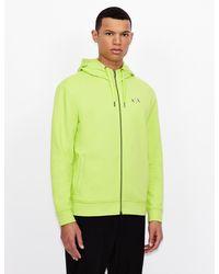 Armani Exchange - Sudadera con capucha y cinta con logotipo - Lyst