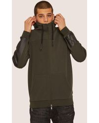 Armani Exchange - Funnelneck 1991 Logo Zip-up Hoodie - Lyst