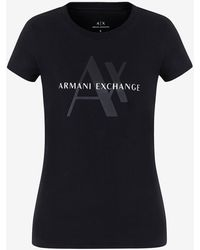 Armani Exchange Slim-fit Tee - Black