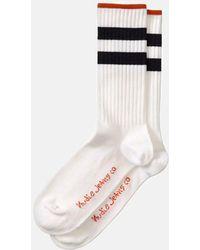 Nudie Jeans - Nudie Amundsson Sport Socks - Lyst