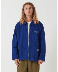 Nigel Cabourn Welders Jacket - Blue