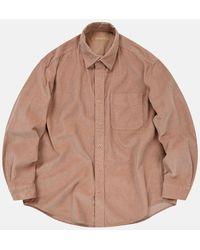 FRIZMWORKS Og Corduroy Shirt (cord) - Pink