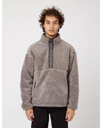 Manastash Big Foot Pullover Fleece - Grey