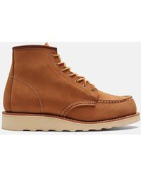"""Red Wing Heritage 6"""" Moc Toe Boots - Brown"""