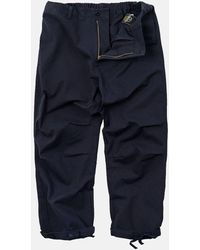 FRIZMWORKS Twill Cotton Easy Trousers - Blue