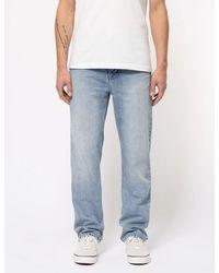 Nudie Jeans Nudie Sleepy Sixten Jeans (relaxed Straight) - Blue