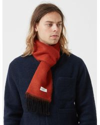 Universal Works Double Sided Scarf - Multicolour