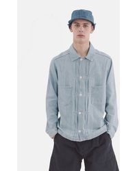 YMC Kit Shirt (denim) - Blue