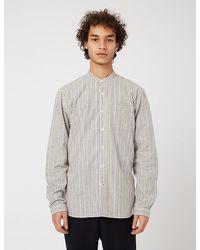 Oliver Spencer - Grandad Shirt (stripe) - Lyst