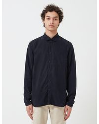 Folk Folk Soft Stitch Pocket Shirt - Blue