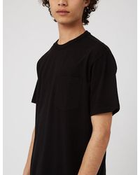 Eastlogue One Pocket T-shirt - Black