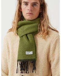 Universal Works Double Sided Scarf - Green