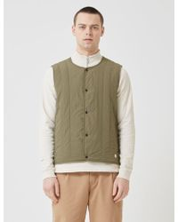 Folk - Quilted Shell Gilet - Lyst