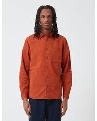 Folk Folk Fraction Shirt (cord) - Orange
