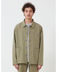 Nigel Cabourn British Army Jacket (cotton Herringbone) - Green
