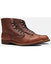 Red Wing Iron Ranger Boot In Amber Harness Leather - Brown