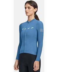 MAAP Evade Pro Base Long Sleeve Jersey - Blue