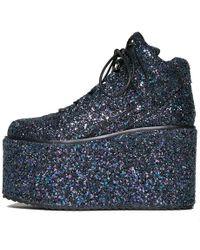 YRU Qozmo Glitter Galactic - Blue