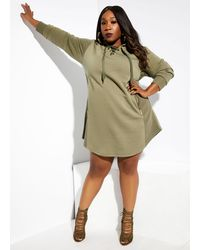 Ashley Stewart The Naija Dress - Green