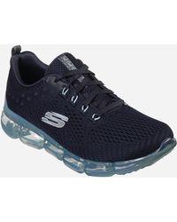 Ashley Stewart Skechers Skech- Air 92 Sneaker- Medium Width - Blue