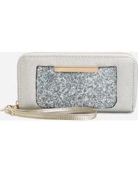 Ashley Stewart - Sequin Pocket Wallet - Lyst
