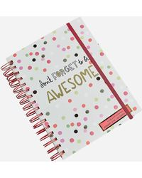 Ashley Stewart - Polka Dot Print 2018 Planner - Lyst