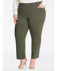 Ashley Stewart - Fit Solution Super Stretch Ankle Pant - Lyst