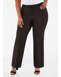 56db474fab17b Lyst - Ashley Stewart Plus Size The Reese Pants in Black