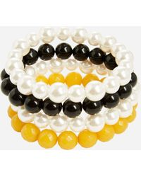 Ashley Stewart - Plus Size Stretch Bracelet Set - Lyst