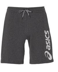Asics Big Logo Sweat Short - Grey