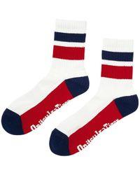 Onitsuka Tiger Middle Socks - Rood