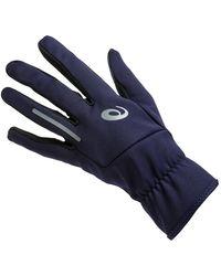 Asics Lite Show Gloves - Blue
