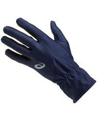 Asics Running Gloves - Blauw