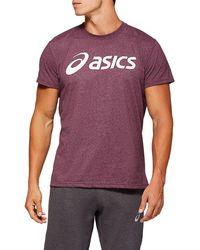 Asics Sport Logo Tee - Paars