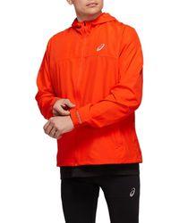 Asics Run Hood Jacket - Rood