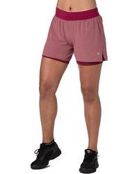 Asics 2-in-1 5,5 Inch Hardloopshort Voor Dames - Meerkleurig