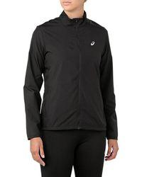 Asics Silver Jacket - Zwart