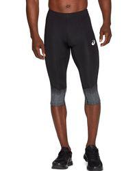 Asics Sport Race Knee Tight Performance Black - Noir