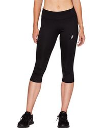 Asics Sport Run Knee Tight Performance Black - Noir