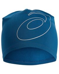 Asics Logo Beanie - Blue