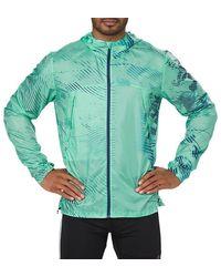 Asics Packable Jacket - Groen
