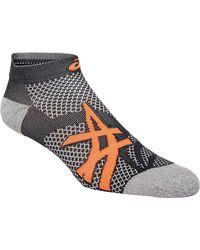 Asics Distance Run Ped Sock - Grijs