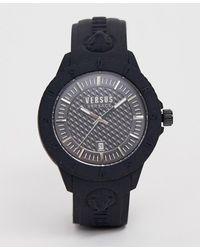 Versus - Tokyo R Spoy24 0018 Silicone Watch Black - Lyst